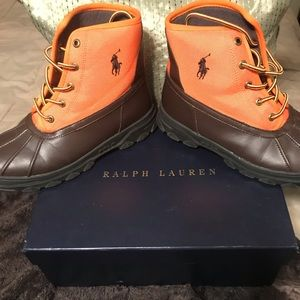 Polo Boots youth size 6 and women's size 8/8.5.